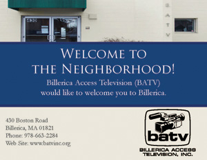 Welcome Wagon Postcard Portfolio Sample